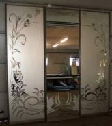 Изготовление. Пескоструйный матовый рисунок на стекле, зеркале.