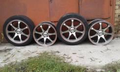 Sakura Wheels. 7.5x17, 5x114.30, ET42