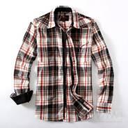 Мегастильнная Фланелевая Рубашка на Молнии Yataghan. 52, 54
