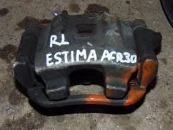 Суппорт тормозной. Toyota Estima, ACR30 Двигатель 2AZFE