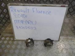 Фара противотуманная. Renault Fluence