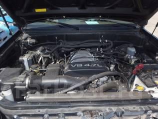 Двигатель в сборе. Toyota Sequoia, UCK45, UCK35 Двигатель 2UZFE