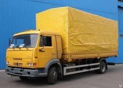 Камаз 4308. Бортовой -6063-28 (R4) борт тент ( Евро 4), 4 500 куб. см., 4 500 кг.