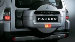 Колпак запасного колеса. Mitsubishi Pajero, V83W, V80, V88W, V87W