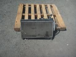 Радиатор охлаждения двигателя. Honda Fit, GD1, UA-GD1, DBA-GD1, LA-GD1, DBAGD1, LAGD1, UAGD1 Двигатель L13A