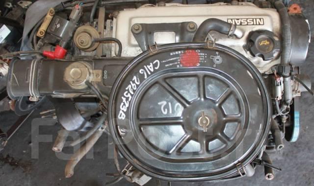 Двигатель в сборе. Nissan: Bluebird, Caravan, Bassara, Stanza, BE-1, Violet, Homy, Auster Двигатель CA16S