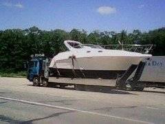 Перевозка катеров, борт-кран, стрела 5 тонн, лебедка, cходни во Владив