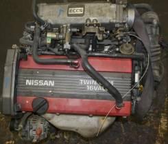 Двигатель в сборе. Nissan Bluebird, RU12 Двигатель CA18DE
