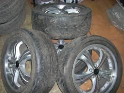 Колеса R18 5х114 с резиной Michelin Pilot Sport R18 255/45 99Y (4шт). 7.5x18 5x114.30 ET53 ЦО 74,0мм.
