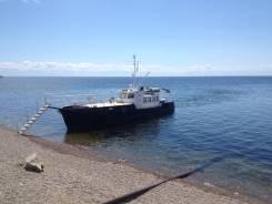 Продам моторную яхту. 2010 год год, длина 17,00м., двигатель стационарный, 80,00л.с., дизель