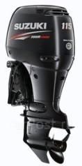 Suzuki. 115,00л.с., 4-тактный, бензиновый, нога L (508 мм), Год: 2017 год. Под заказ