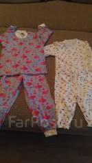 Пижамы. Рост: 80-86, 86-98, 104-110 см