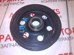 Шкив коленвала. Honda: Jazz, Fit Aria, Civic, Fit, City Двигатели: L13A6, L13A5, L13A2, L13A1, L12A1, L12A3, L12A4, L13A7, L13A3, L13A8, L12A2