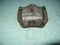 Суппорт тормозной. Toyota Funcargo, NCP20