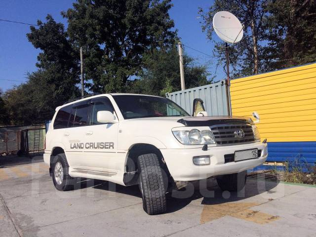 Toyota Land Cruiser. автомат, 4wd, 4.7 (220 л.с.), бензин, 230 000 тыс. км