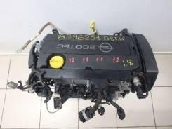 Двигатель в сборе. Opel Zafira Двигатель A18XER