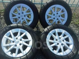 Комплект зимних колес 215/60R16 Toyo на литых дисках Toyota 5x114.3. 6.5x16 5x114.30 ET39 ЦО 60,0мм.