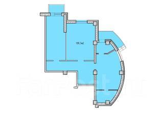 Нежилое помещение в новом доме от застройщика. Улица Сабанеева 14в, р-н Баляева, 109 кв.м. План помещения