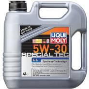 Liqui moly Special Tec LL. Вязкость 5W-30, полусинтетическое