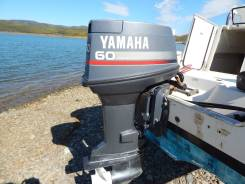 Yamaha. 60,00л.с., 2х тактный, бензин, нога L (508 мм), Год: 1996 год
