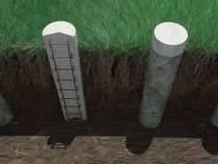 Строительство свайных фундаментов.