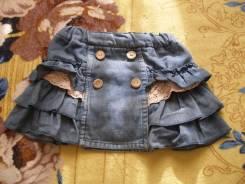 Юбки джинсовые. Рост: 98-104, 104-110, 110-116 см
