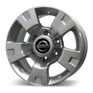 Nissan. 8.0x16, 6x139.70, ET10, ЦО 110,5мм.