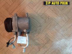 Компрессор кондиционера. Suzuki Wagon R, MH22S Двигатель K6A