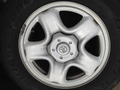 Toyota. 6.5x16, 5x114.30, ET35, ЦО 64,0мм.