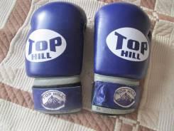 Боксерские перчатки Top Hill King 10 унций, бинты