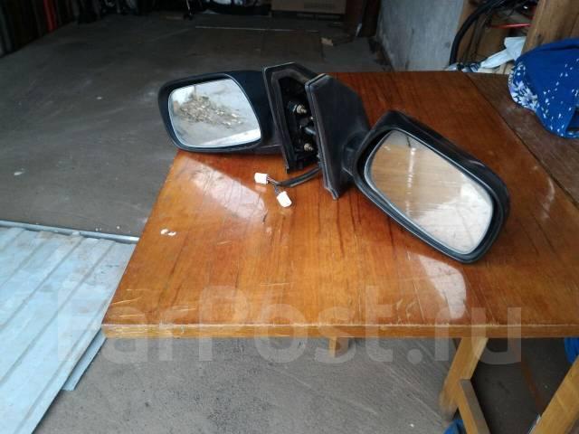 Зеркало заднего вида боковое. Toyota Corolla Fielder Toyota Corolla Runx