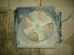 Мотор вентилятора охлаждения. Nissan Atlas, AGF22 Двигатель TD27