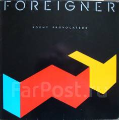 "Винил Foreigner ""Agent provocateur"" 1984 Germany"