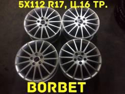 Borbet. 7.0x17, 5x112.00, ET38