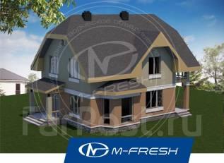 M-fresh Semantica-зеркальный. 200-300 кв. м., 2 этажа, 5 комнат, бетон