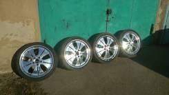 Продам 4 колеса R18.225.40. 7.5x18 5x114.30 ET50