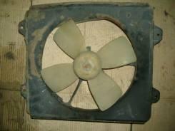 Мотор вентилятора охлаждения. Toyota Vista, SV32 Двигатель 3SFE