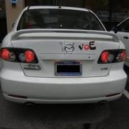 Спойлер. Mazda Atenza Sport, GG3S, GY3W, GGES, GYEW Mazda Mazda6 Mazda Atenza, GGES, GG3S, GG3P, GY3W, GYEW, GGEP