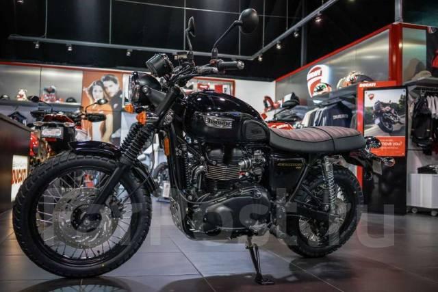 Triumph Scrambler 2015 продажа мотоциклов во владивостоке