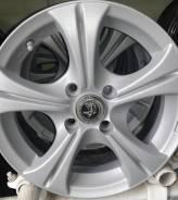Red Wheel. 6.0x14, 4x100.00, ET38