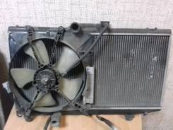 Радиатор охлаждения двигателя. Toyota Corolla Spacio, AE111, AE111N