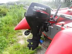 Suzuki. 15,00л.с., 4х тактный, бензин, нога S (381 мм), Год: 2011 год