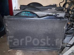 Радиатор охлаждения двигателя. Toyota Soarer, JZZ30 Двигатель 1JZGTE