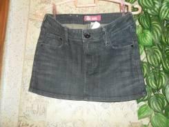 Юбки джинсовые. Рост: 146-152, 152-158 см
