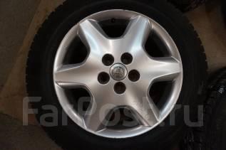 225/60R17 Зимние шины с литыми дисками Toyota. Без пробега по РФ. 7.5x17 5x114.30 ET45 ЦО 60,1мм.