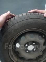 Продам зимние шины Tigar sigura stud со стальными дисками. 6.0x14 4x100.00
