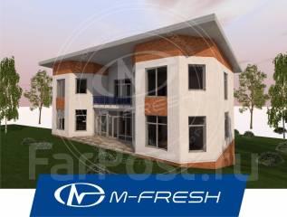 M-fresh Catamaran! (Свежий проект большого дома! Посмотрите сейчас! ). более 500 кв. м., 2 этажа, 7 комнат, бетон