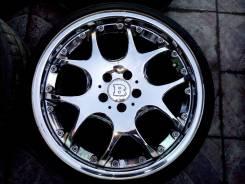 Продам отличный комплект колёс mercedes Brabus monoblock V R19. 8.5/9.5x19 5x112.00 ET35/35 ЦО 66,6мм. Под заказ