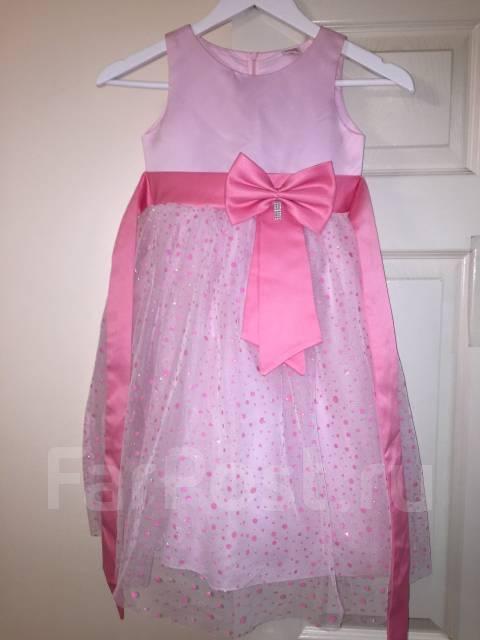 Нарядное платье для девочки 122 рост