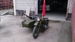 Урал М-72. 750 куб. см., исправен, птс, без пробега